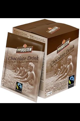 10x25g Van Houten Chocolate Drink, Reilun...