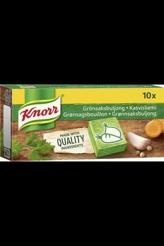 Knorr Liemikuutio Kasvis 10x10g