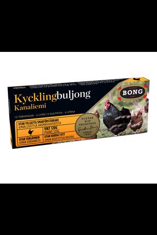 Bong kanaliemikuutiot 12-pack 120g