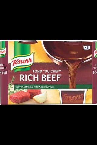 """Knorr Fond """"du Chef"""" Tumma naudanliha-annosfondi..."""