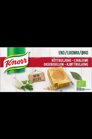 Knorr Luomu Liemikuutio Liha 12x10g