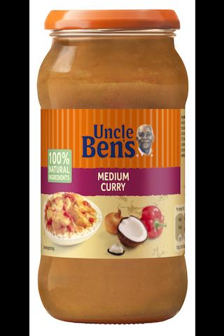 Uncle Ben's Medium Curry ateriakastike...