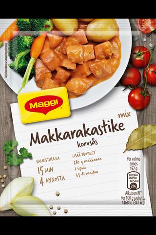 Maggi Mix Makkarakastike ateria-ainekset...