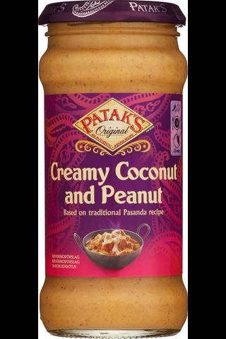 Patak's Creamy Coconut & Peanut...