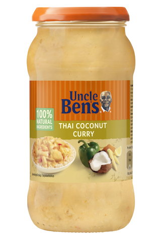 Uncle Ben's Thai Coconut Curry ateriakastike...