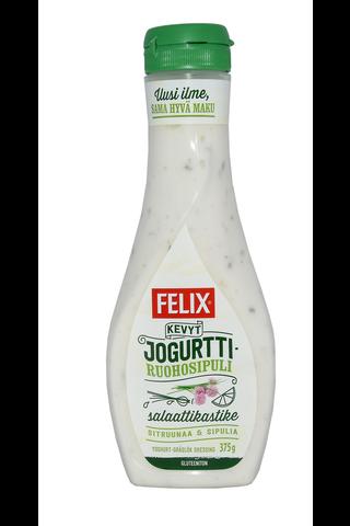 Felix kevyt jogurtti-ruohosipuli salaattikastike...