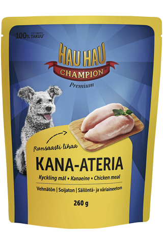 Hau-Hau Champion Kana-ateria 260 g