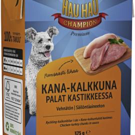Hau-Hau Champion Kana-kalkkunapalat kastikkeessa...