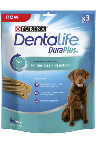 Purina Dentalife 243g Dura Plus Large koiran...