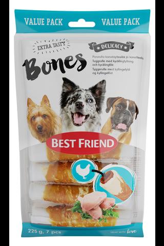 Best Friend 225g Bones pururulla kanatäytteellä...