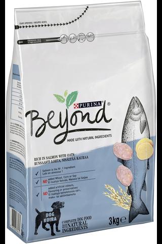 Purina Beyond 3kg Runsaasti Lohta, sisältää...