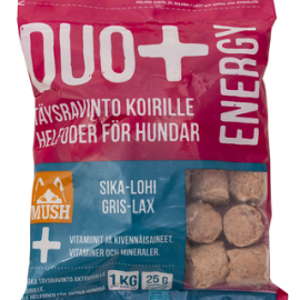 DUO+ Lohi-sika täysrehu koirille 1kg