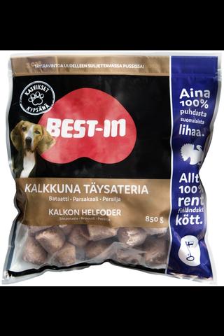 Best-In Kalkkuna Täysateria Lemmikinruoka Pakaste 850g