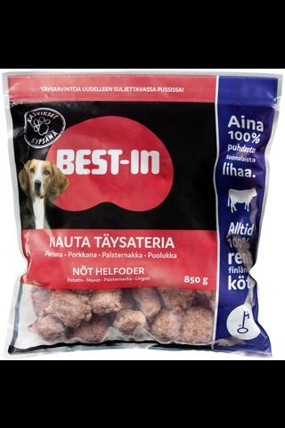 Best-In Nauta Täysateria Lemmikinruoka Pakaste 850g