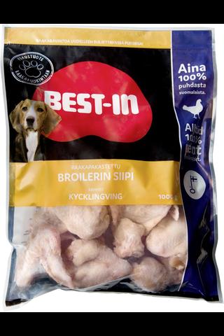 Best-In Broilerin Siipi Lemmikinruoka Pakaste 1kg