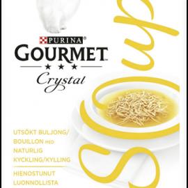 Gourmet 40g Crystal Soup Luonnollista kanaa...