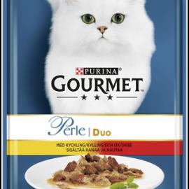 Gourmet 85g Perle Kanaa & Nautaa Delicate...