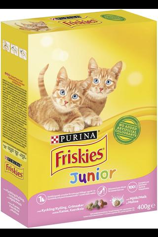 Friskies 400g Junior Cats Kanaa, Maitoa ja...