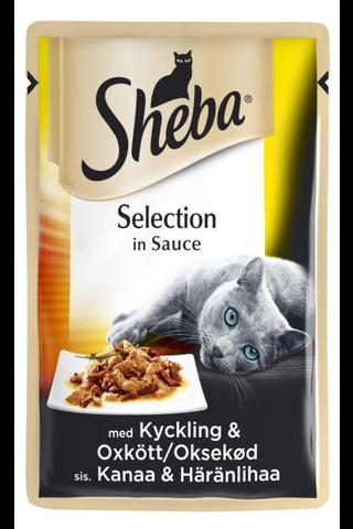Sheba Selection Kanaa & Härkää 85g