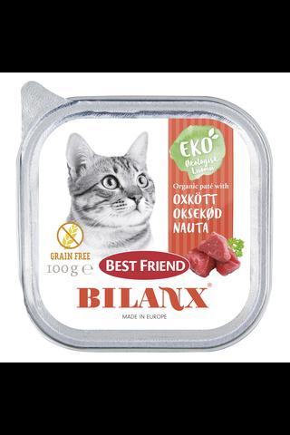 Best Friend Bilanx 100g luomu nautapatee
