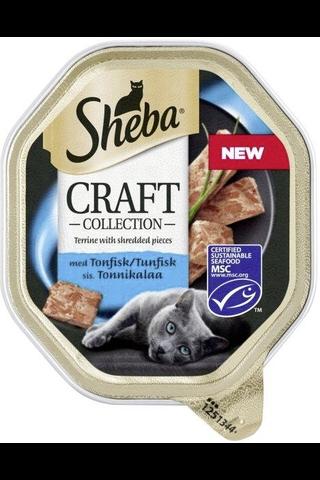 Sheba Craft 85g sis. Tonnikalaa (MSC), täysrehua...