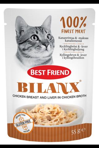 Best Friend Bilanx Kananrintaa ja maksaa...