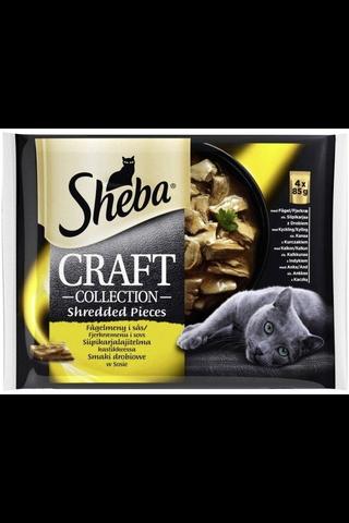 Sheba Craft Siipikarjalajitelma 4x85g