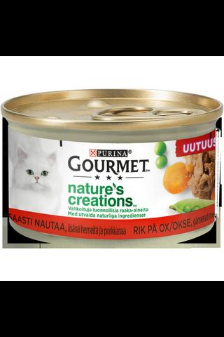 Gourmet 85g Nature's Creations, Runsaasti...