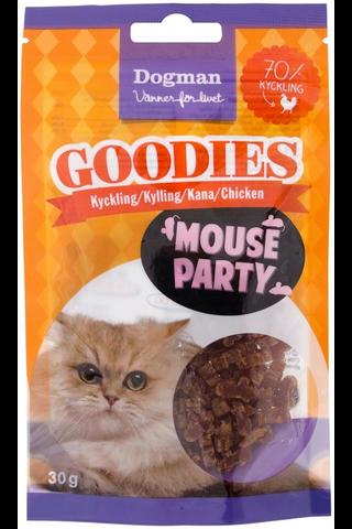 Dogman Goodies 30g Mouse Party kissaherkku...