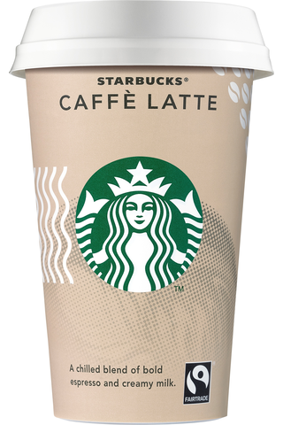 Starbucks Caffe Latte kahvi 220ml