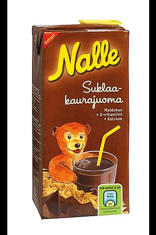 Nalle suklaakaurajuoma 0,75L