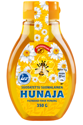 350g Suodatettu Suomen Hunajayhtymän