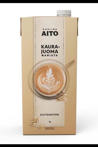 Kaslink Aito UHT Gluteeniton Kaurajuoma Barista...