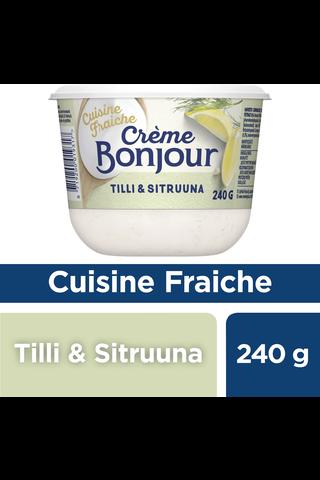Crème Bonjour Tilli & Sitruuna 240g