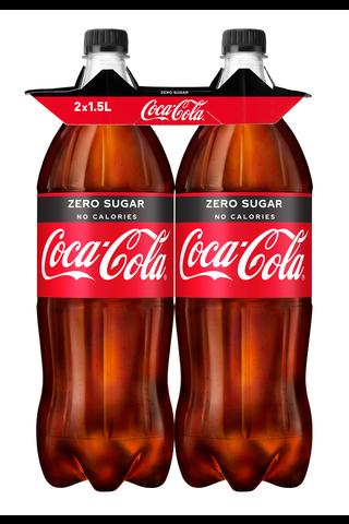 2-pack Coca-Cola Zero Sugar virvoitusjuoma...