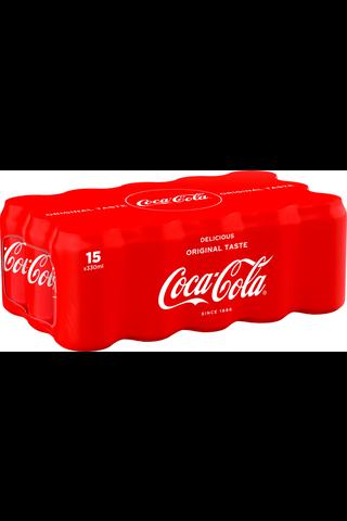 15-pack Coca-Cola Original Taste virvoitusjuoma...