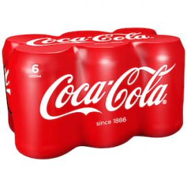 6-pack Coca-Cola Original Taste virvoitusjuoma...