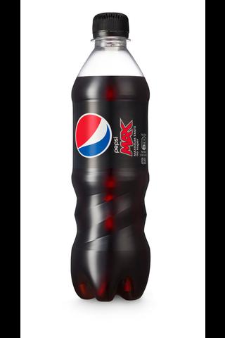 Pepsi Max sokeriton virvoitusjuoma 0,5l