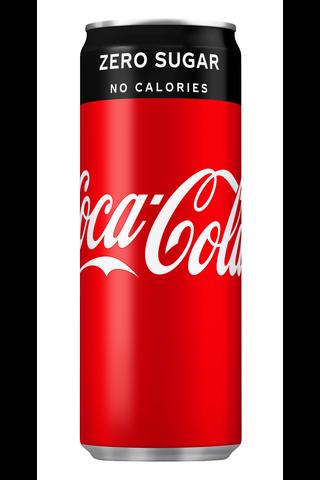 Coca-Cola Zero Sugar virvoitusjuoma tölkki...