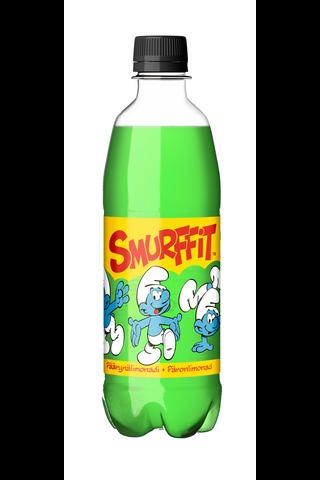 Smurffit Päärynälimonadi virvoitusjuoma...