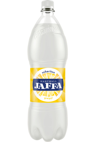 Hartwall Jaffa Greippi Sokeriton virvoitusjuoma...