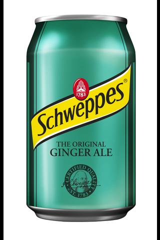 Schweppes Ginger Ale virvoitusjuoma tölkki...