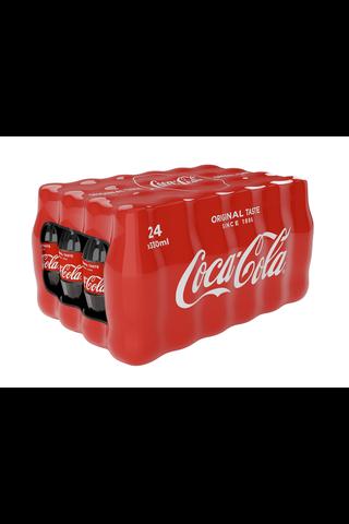 24-pack Coca-Cola Original Taste virvoitusjuoma...