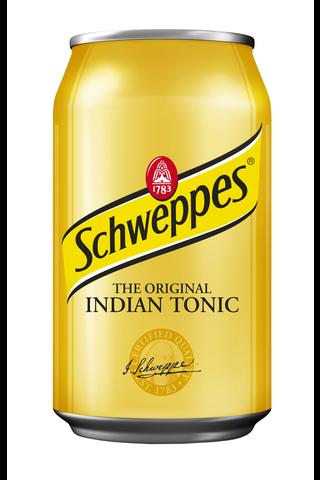 Schweppes Indian Tonic virvoitusjuoma tölkki...