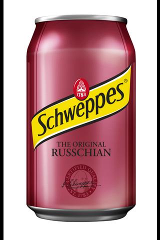 Schweppes Russchian virvoitusjuoma tölkki...
