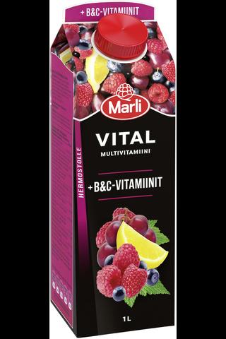 Marli Vital Multivitamiinimehujuoma + B&C...