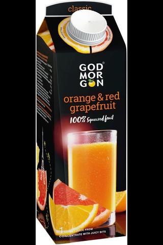 God Morgon Orange Red Grapefruit täysmehu...