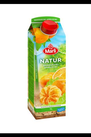 Marli Natur Rypäle-mandariini-appelsiinitäysmehu...