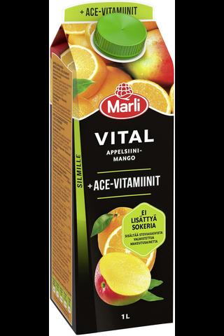 Marli Vital Appelsiini-mangomehujuoma + ACE-vitamiinit...