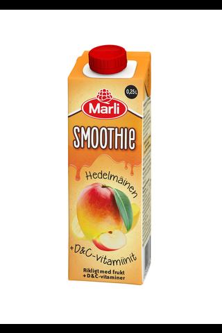Marli hedelmäinen smoothie +D&C -vitamiinit...